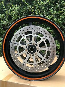 KTM Superduke 990 2009 Front Wheel Complete with Disks