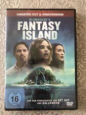 BLUMHOUSE'S FANTASY ISLAND ( 2020 ) DVD UNRATED CUT & KINOVERSION