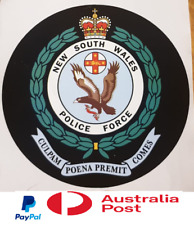 New South Wales Police Sticker Decal Badge logo Sydney Flag Badge NSW Melbourne