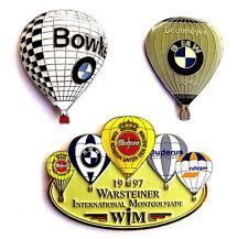 AUTO BALLON Pin / Pins - BMW mit WARSTEINER / 3 PINS!!!!! [3667]