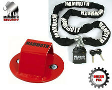 Jetski , Boat Security Lock Chain And FREE Ground Anchor
