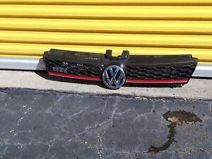 VW Volkswagen GTI 2010-2014 Front Bumper Upper Grille Grill OEM