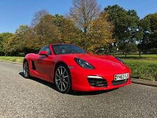 Porsche Boxster S 981 3.4L 6 Speed Manual - HUGE SPEC- FSH -1 PREVIOUS OWNER 987