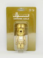 MEDICOM TOY CHROME GOLD 100% RABBIT BE@RBRICK R@BBRICK BEARBRICK JAPAN Limited
