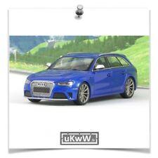 Minichamps 1/43 - Audi RS4 Avant 2012 bleu métallisé