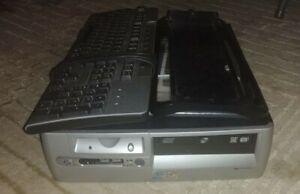 HP Compaq d530 SFF Pentium 4 2.66 GHz 1.2GB RAM 120GB HDD [SEE DESCRIPTION]