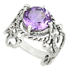 Ornate Amethyst Ring - Free Postage