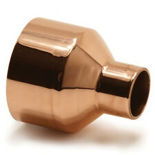 NEW copper fitting reducer 42mm x 15mm, male x female, water, gas, plumbing