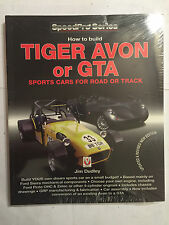 How to build Tiger Avon or GTA sports cars for road or track BOOK MANUAL VELOCE