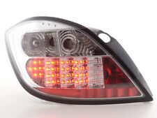 Chrome clear finish LED tail rear lights for Opel Astra H 5 door model from 2004