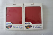 Genuine Original Samsung Galaxy Tab S Simple Cover For 10.5 Inch Tablet - Red UK