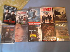 LOT 9 DVD + 1 BLURAY NEUFS SOUS BLISTER