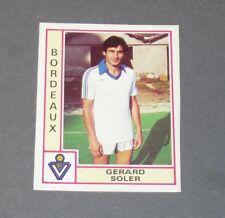 SOLER GIRONDINS BORDEAUX LESCURE RECUPERATION PANINI FOOTBALL 80 1979-1980
