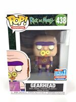 Funko Pop! Rick And Morty GEARHEAD NYCC Shared Exclusive Limited Edition #438