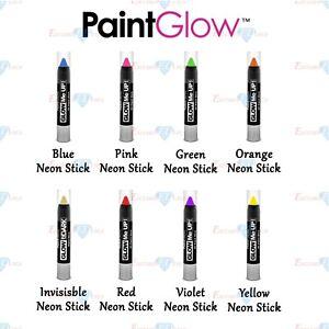 Paint Glow Sticks Face Body Paint Make Up Body Art Festival Glow In The Dark