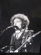 Photographie originale de Bob Dylan en concert à Paris