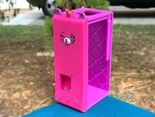 "RARE McDonalds Shopkins 4"" Pink & Purple Photo Booth Plastic Toy Figure"