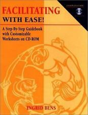 Facilitating With Ease! A Step-By-Step Guidebook with Customizable Worksheets on