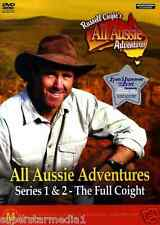 Russell Coight's All Aussie Adventures Series 1 & 2 : NEW DVD
