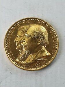 Medaille Bergbau Tangerhütte 1892
