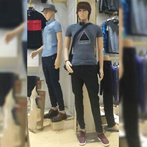 183CM Mannequin Full Body Dummy Retail Dressmaker Man Shop Window Display