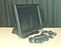 """Touch Dynamic Breeze MONITOR 15"""" Touchscreen -includes Card Reader & Stand ONLY!"""