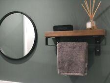 Towel Rail Industrial Style Rustic Decor Kitchen Urban Door Handle Cabinet