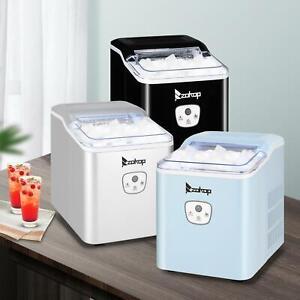 Zokop Portable Mini 26Lbs/24H Ice Maker Machine Countertop 1.87lbs Ice Storage