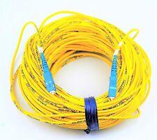 46 METER FIBER OPTIC CABLE YELLOW 50J-08046-99 SC/SC ATT:20623 BRAND NEW #F62