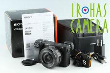 Sony α6300/a6300 Fotocamera digitale + 16-50mm * JP lingua solo * #30140 L2