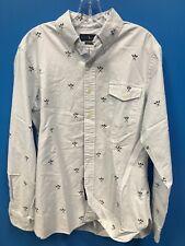 Polo Ralph Lauren Boy LongSleeve M Button Down Striped Oxford Shirt E-1-0007