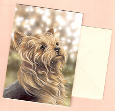 Yorkshire Terrier Yorkie Notecards Note Card by Paul Doyle Pack of 5 (f)