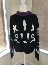 vtg Gitano Plus Sweater Womens 80s 90s Fashion Brand Retro Chic Throwback