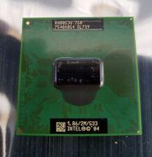 CPU Intel Pentium M 750 1.86GHz P4 Laptop Processor SL7S9