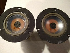 New listing Infinity Polypropylene Clear Mid Range Drivers - Working / Fair Condition