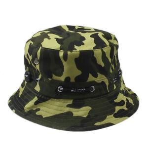 Bucket Hat Boonie Flat Hunting Fishing Outdoor Summer Cap Unisex 100% Cotton New
