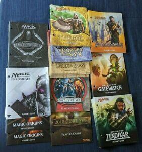 Magic the Gathering Mtg Player's guide x40 Orgins, 2010, Theros, 2015, Zendikar