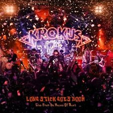 KROKUS - LONG STICK GOES BOOM (LIVE FROM THE HOUSE OF RUST)  CD NEUF