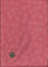"""Nice Cream Micro Dotted Floral Print on salmon pink (more pink) Fabric - 18"""""""
