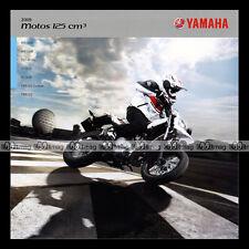 Brochure YAMAHA ★ WR 125 X R YZF ST XT YBR CUSTOM ★ 2009 Moto Prospekt #BM109