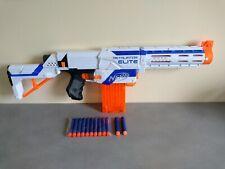 Pistolet Fusil Sniper NERF N-STRIKE RETALIATOR ELITE 65cm Blanc + 12 Fléchettes