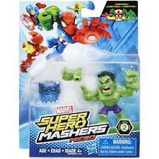 SUPER HERO MASHERS MICRO ACTION FIGURE - AVENGERS SPIDERMAN - MARVEL HASBRO