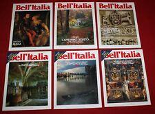 Bell'Italia lotto 6 numeri speciali da collezione Emilia Parma   spc20