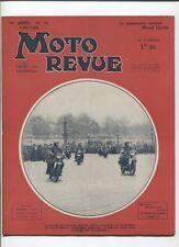 Moto Revue N°791 ; 6 mai 1938  : la suspenssion arriére des Monnet goyon
