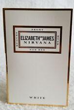Elizabeth James Nirvana WHITE Eau De Parfum EDP Spray Sample .05 oz/1.5mL New