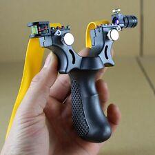Big power rubber band slingshot High precision flat leather slingshot profession