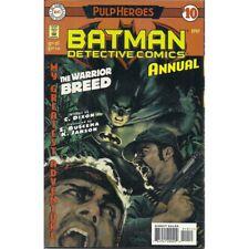 Batman Detective Comics Annual #10 DC 1997 Pulp Heroes comic book universe
