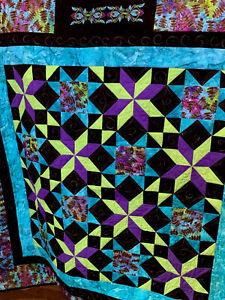 Handmade Quilt titled Joy
