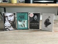 Lionel Richie Cassette Bundle Cant Slow Down Time Back To Front + Single