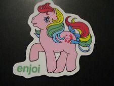 "ENJOI My Little Pony Rainbow Dash Pinkie Pie Sticker 3."" skateboard helmet decal"